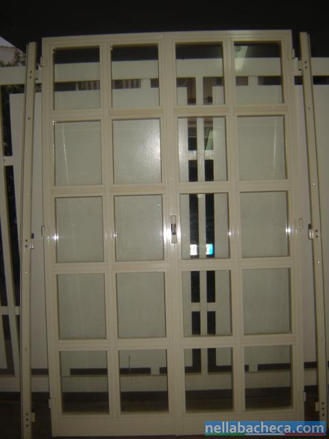 infissi finestre e balconi usati in alluminio anodizzato
