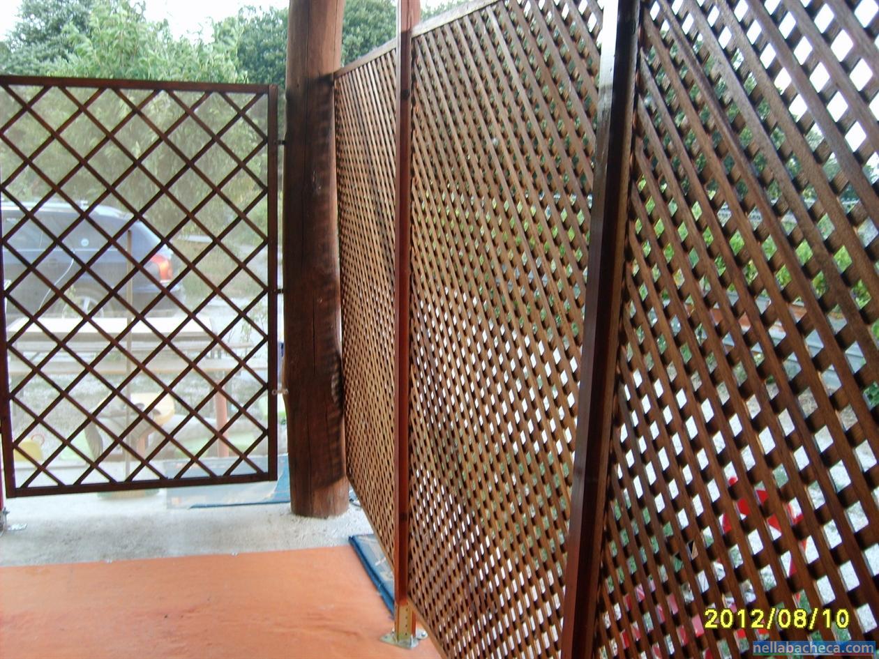 Pannelli grigliati lazio arredamento giardino for Arredamento giardino usato
