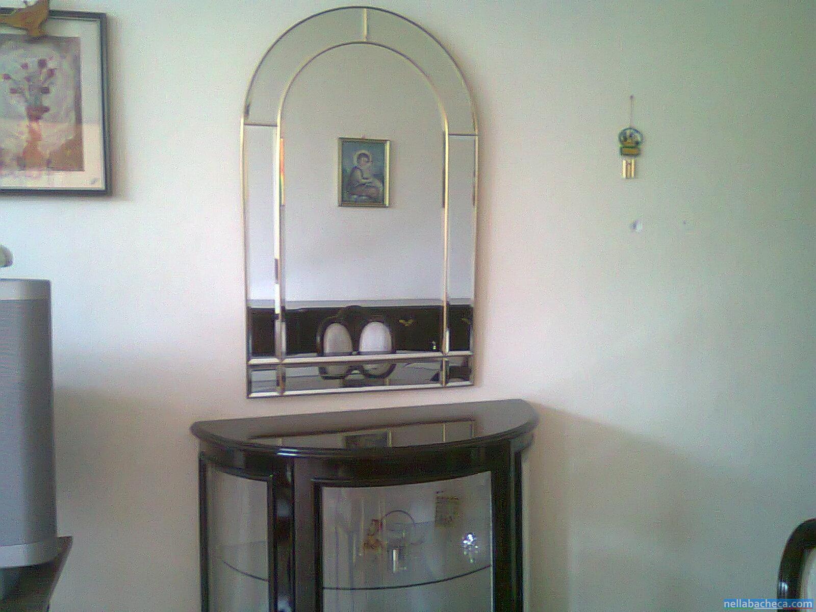 Ingresso stile inglese con specchio sicilia carini for Arredamenti scalea