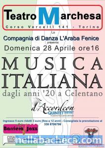 LA MUSICA ITALIANA DAGLI ANNI '20 A CELENTANO