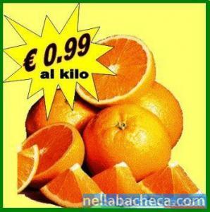 """Offerta arance varietà â€œtarocco"""" della Calabria."""