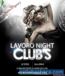 Italia Hostess agency selezioni ragazza night club