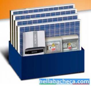 kit impianto fotovoltaico con batterie