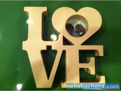 riproduzione scultura LOVE