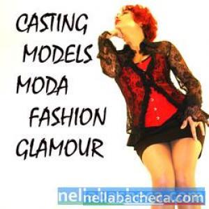 Casting Moda Modella Pubblicità Sfilate