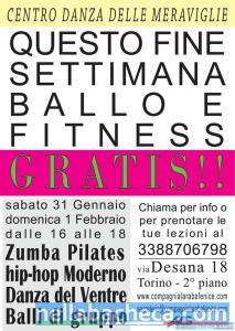 Lezioni gratuite di Ballo e Fitness