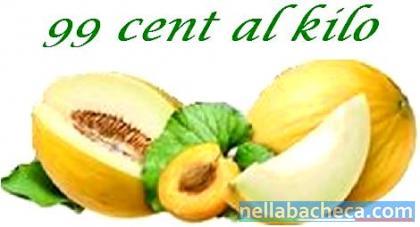 Meloni gialli calabresi ad € 0.99 al kilo