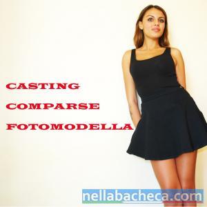 Casting Comparse TV Fotomodella