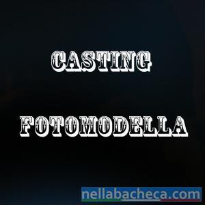 Casting Fotomodella