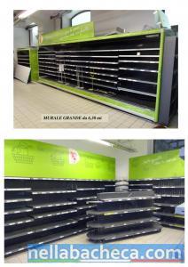 Vendita stock arredamento supermercato