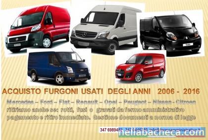 veicoli commerciali acquistiamo in fermo amministrativo