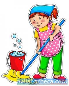 Addetta alle pulizie