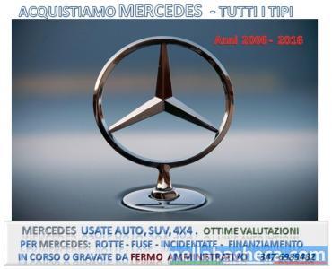 Fuoristrada 4x4 Mercedes in fermo amministrativo
