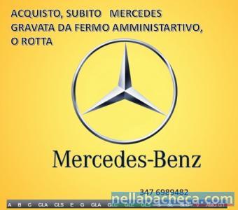 Mercedes autoveicoli e 4x4 usate acquisto contanti
