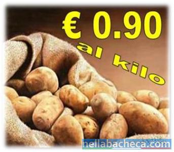 Offerta scorta patate novelle Calabria ad € 0.90kg