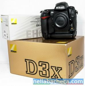 Nikon D3X with lens