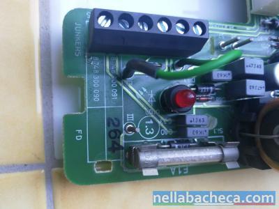 Scheda caldaia elettronica Junkers